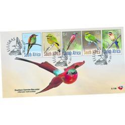 В ЮАР выпустили почтовые марки с птицами-пчелоедами