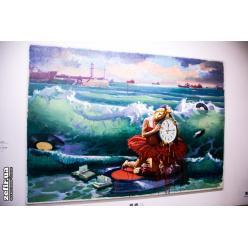 В Киеве стартовала экспозиция живописца Арсена Савадова
