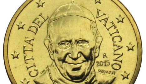 Ватикан перестанет чеканить монеты с изображением Папы Римского