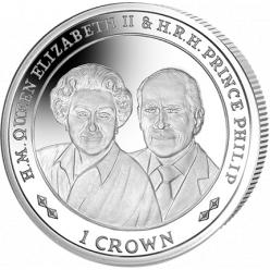 Фолклендские острова выпустят монету к платиновой свадьбе Королевской четы