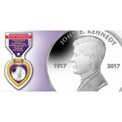 Британские Виргинские острова выпустили памятную монету к 100-летию Джона Кеннеди