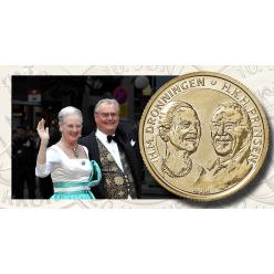 У Данії викарбували монети на честь золотого весілля королівського подружжя