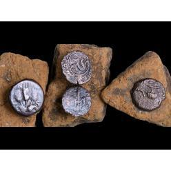 В Израиле найден двойной древний клад