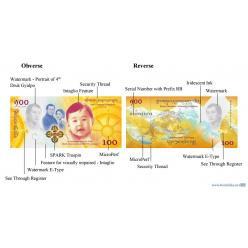 Бутан выпускает новую памятную банкноту