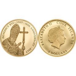 Выпущена последняя монета с изображением Папы Римского