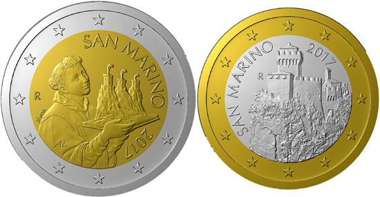 Сан-Марино обновляет дизайн евромонет спустя 15 лет