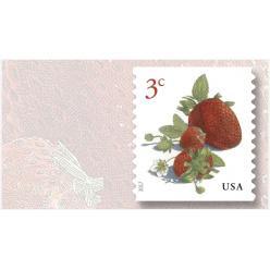 Почтовая служба США продолжает фруктовую серию почтовых марок