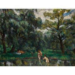 В Великобритании работы русских художников проданы на Sotheby's