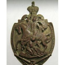 12 февраля 1914 года был утвержден знак Конно-Артиллерийской батареи