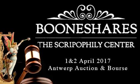1 апреля в Антверпене состоится аукцион Марио Буне по скрипофилии