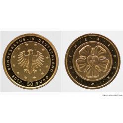 В Германии отчеканили монету номиналом 50 евро
