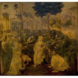 Во Флоренции покажут отреставрированный шедевр Леонардо да Винчи