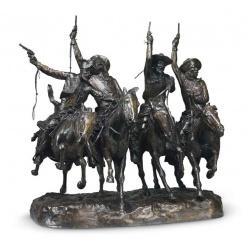 Бронзовая скульптура Ремингтона может уйти с молотка за 10 миллионов долларов США
