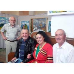 В Днепре живописец Михаил Кублик посвятил выставку Грузии