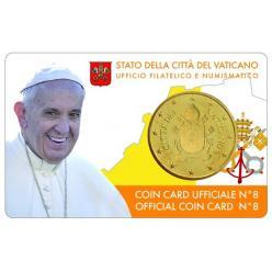Ватиканская монета поменяла папский портерт на герб