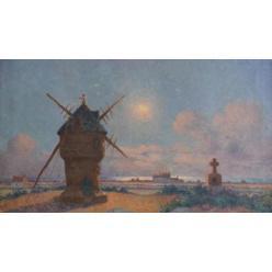 Во Франции полотно живописца Пюигодо ушло с молотка за 10 тысяч евро
