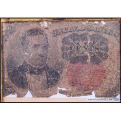 На торги выставлена банкнота, найденная на теле убитого Билли Кида