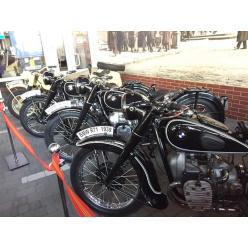 Уникальная выставка мотоциклов BMW открылась в Днепре