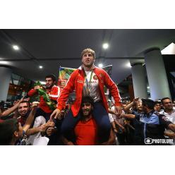 В Армении выпустили новую марку в честь чемпиона-олимпийца