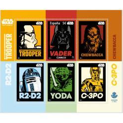 Испания выпустила марки, посвященные «Звездным войнам»