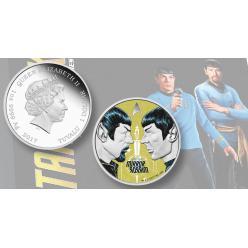 В Тувалу выпустили серебряный доллар, в честь юбилея Стар Трека