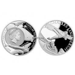 Государство Ниуэ посвятило монету летчику Чарльзу Линдбергу
