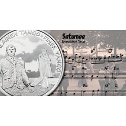 Финляндия отчеканила монеты в честь популярной в народе песни о танго