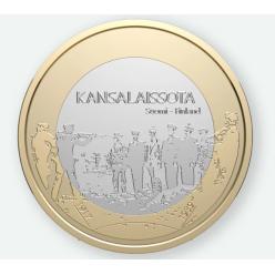 В Финляндии изготовили монеты с изображением расстрела