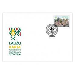 Литва выпустила марки в честь годовщины движения скаутов