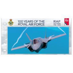 Почтовое ведомство острова Мэн, в честь 100-летия Королевских ВВС, выпустило почтовый набор из восьми марок