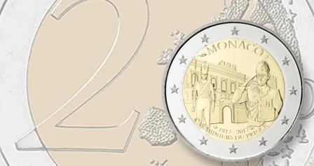 В Монако выпустили монеты в честь охраны правителя страны