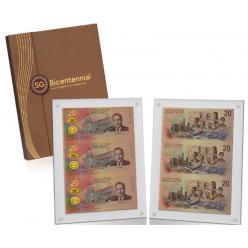 В Сингапуре в продажу поступили памятные банкноты «Singapore Bicentennial»