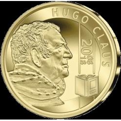 Памятную монету в честь Хьюго Клауса выпустила Бельгия