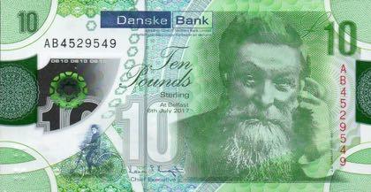 Еще одна банкнота номиналом 10 фунтов появилась в денежном обращении Северной Ирландии