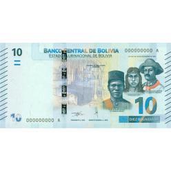 В Боливии появилась новая банкнота