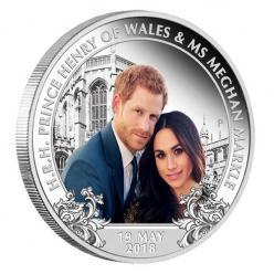 В Австралии отчеканена монета в честь свадьбы принца Гарри и Меган Маркл
