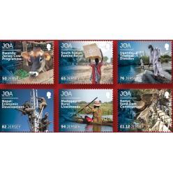 Новые марки Джерси выпущены в честь всемирной организации по борьбе с нищетой