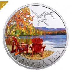 В Канаде выпущена новая монета из серии «Фантастическая Канада»