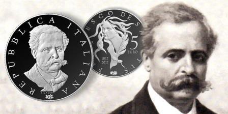 Новая памятная монета, выпущенная в Италии, посвящена философу XIX века