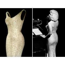 Платье, в котором Мэрилин Монро пела Кеннеди, продано почти за 5 миллионов доллларов США