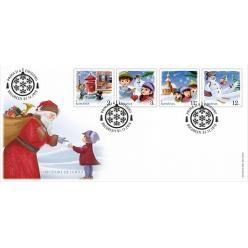 В Румынии появились красочные новогодние марки