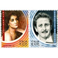 В Италии выпущены 2 новые марки из серии «Итальянские мастера шоу»