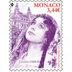 Новые марки Монако посвящены оперным певцам