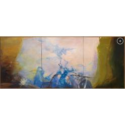На аукцион Christie's выставлена картина китайского художника Чжао Уцзи «Триптих 1987-1988»