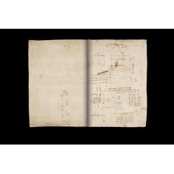 Снимки рукописи Леонардо да Винчи появились в сети