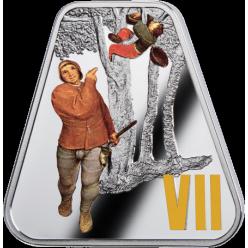 В Польше отчеканили очередную монету набора «Десять заповедей»