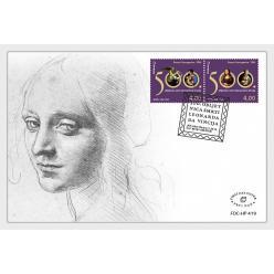 Еще одна страна посвятила выпуск почтовой марки Леонардо да Винчи