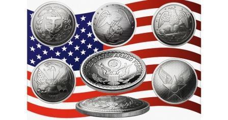 Монеты, похожие на солдатские пуговицы, выпущены в США