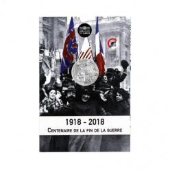 Франция празднует годовщину окончания Первой мировой выпуском новых монет