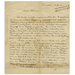 На аукционе письмо Эйнштейна ушло с молотка за $134 000